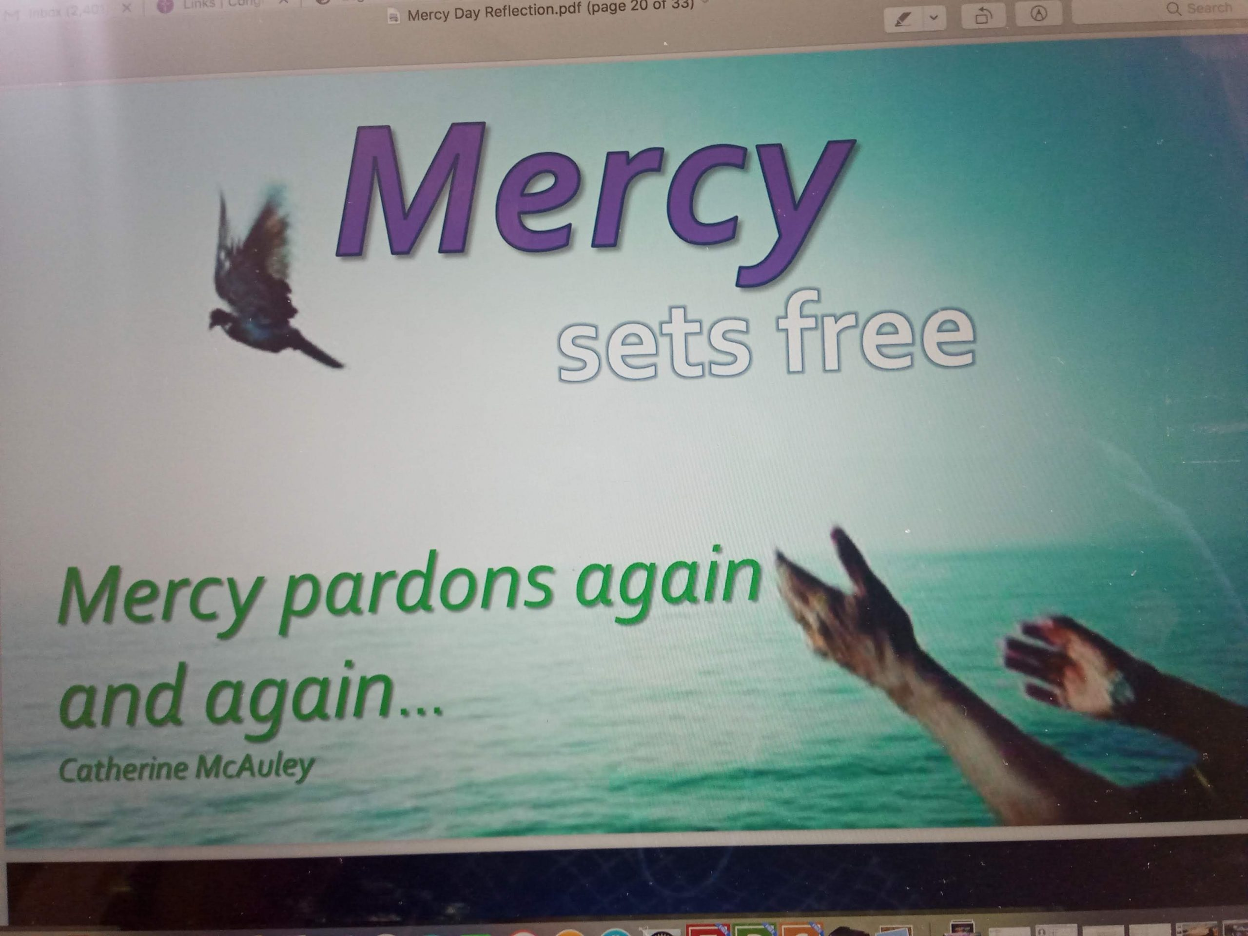 HAPPY MERCY DAY